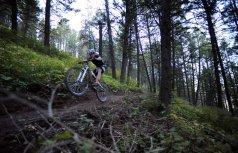 Bike tricks! PC Meg Haywood Sullivan