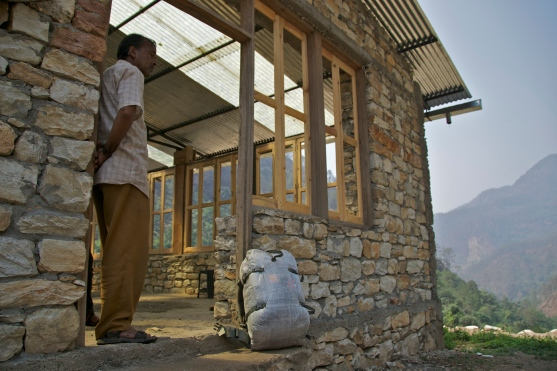 Schoolhouse in Kuflan, Uttarakhand