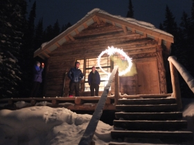 New years done right! Somewhere in Montana